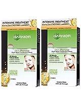 Garnier Dark Spot Treatment Mask For Dark Spots Plus Intense Hydration, 0.64 Fluid Ounce (Pack Of 2)