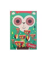 Funky Monkey Greeting Card