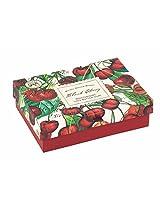 Michel Design Works Black Cherry Triple Milled Double Soap Box Set, 8 oz