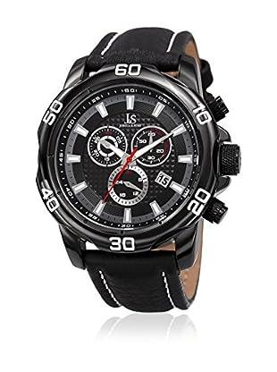 Joshua & Sons Reloj de cuarzo Man JX109BK 48 mm