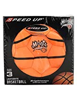 SPEED UP Speed Up Basket Ball- Size 3 (Orange and Blue)