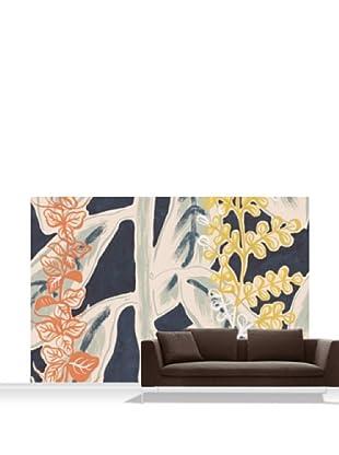Lana Mackinnon Leaves Mural, Standard, 12' x 8'