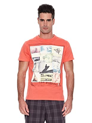 Kelme Camiseta Manga Corta Imágenes (Coral)