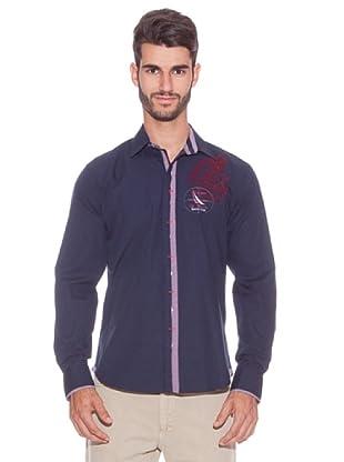 Giorgio Di Mare Camisa Milton Keynes (Azul Marino)