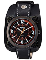 Helix Analog Black Dial Men's Watch - TW04HG03H