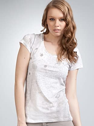 Lee Camiseta Sleeve (blanco)