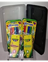 Kids Go Box with Crayola Markers and Crayons! -Boy