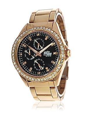 Pit Lane Uhr mit Miyota Uhrwerk Pl-4006-3 rosé 41 mm