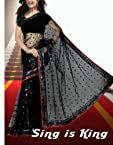 Katrina Kaif Bollywood Replica Black Stunning Saree