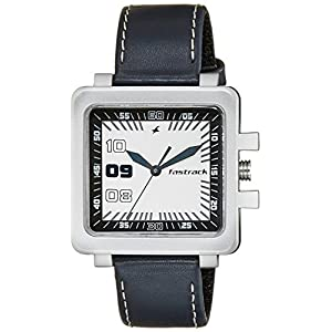 Fastrack Analog White Dial Men's Watch - NC747PL01