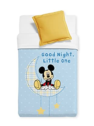 Disney Home Coperta Culla Mickey Mouse (Blu)