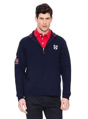 Valecuatro Sweater Cremallera (Azul Marino)