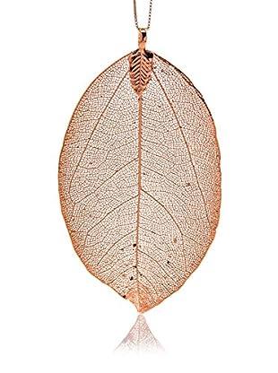 ANA Natural Leaves Anhänger Natural Leaf vergoldet