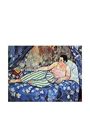 Legendarte Leinwandbild Suzanne Valadon - La Stanza Blu