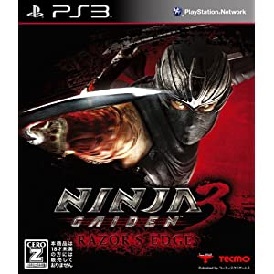 NINJA GAIDEN 3: Razor's Edge PS3