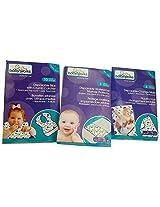 Babyworks Disposable Bibs, Change Mats, Waterproof Mattress Protectors - Diaper Travel Kit