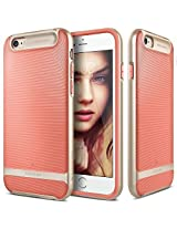 iPhone 6S case, Caseology [Wavelength Series] [Coral Pink] Textured Pattern Grip Cover [Shock Proof] for Apple iPhone 6S (2015) & iPhone 6 (2014)