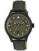 Nautica Analog Green Dial Men's Watch  - NTA11108G