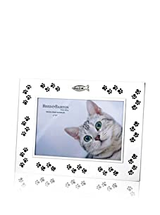 """Reed & Barton Meow Silver Plated 4"""" x 6"""" Picture Frame"""