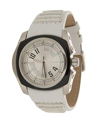 Custo Watches CU030502 - Reloj de Caballero cuarzo piel Blanco