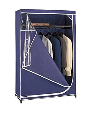Organize It All Blue Deluxe Storage Wardrobe