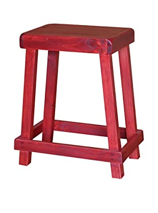 2 Day Designs Chef's Stool (Rouge)