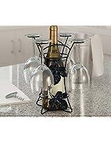 1PC wine bottle & glass holder