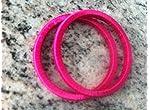 Rani pink bangles 2.6 size