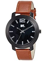 MTV Analog Black Dial Men's Watch - M-3006