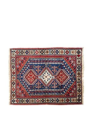 RugSense Teppich Persian Yalameh rot/blau 142 x 100 cm