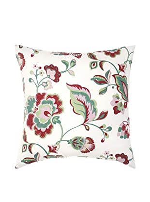 Image by Charlie Taylor Decorative Pillow, White/Multi, 20