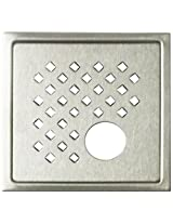 Aquieen Stainless Steel Floor Grating (Silver, Daisypc)