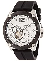 Lancaster Trendy Silicone Strap Analogue White Men's Wacth-OLA0383BN