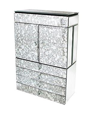 Jay Imports Marble Look Jewelry Box