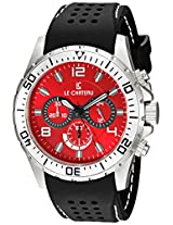 Le Chateau Men's 7072mssrub_red Sport Dinamica Chronograph Watch