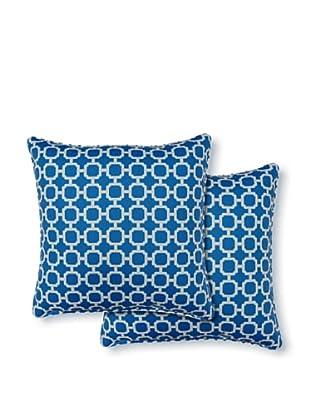 Dakota Set of 2 Hockley Pillows (Nile)