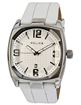 Police Analog White Dial Men's Watch - PL12963JS/01