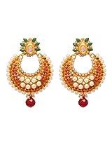 Vendee Designer fashion copper earrings (7907)
