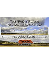 Train Junkies The Great Plains Railroad Backdrop Ho Oo Scale