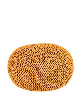Sofahocker Intreccio orange
