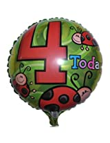 Madcaps 4 Today Foil Balloon (Pack Of 2)