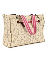 Pink Lining Bramley Tote Bag, Sam the Dalmatian Cream