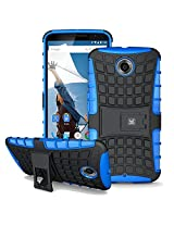 Kayscase Armorbox Heavy Duty Cover Case For Google Nexus 6 - Blue