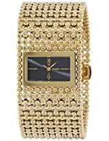Roberto Bianci Women's 9084L_BLK Prestigio Gold-Tone Watch