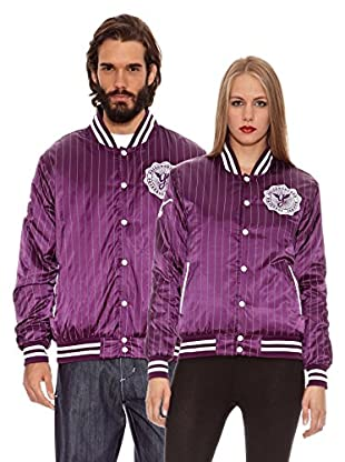 Grimey Wear Chaqueta Satinada Furies Light (Morado)