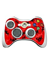 Game Xcel Xbox 360 High Gloss Controller Skin Protective Vinyl Sticker For X360 Slim Wireless Game Controller X3 Controller Decal Digicamo Red