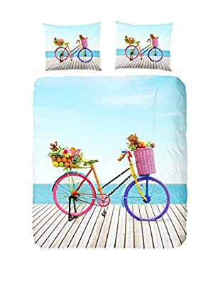 Good Morning Bettdecke und Kissenbezug Bicycle