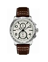 Nautica Chronograph White Dial Men's Watch - A19577G