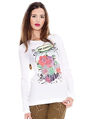 Just Cavalli Camiseta (Blanco)