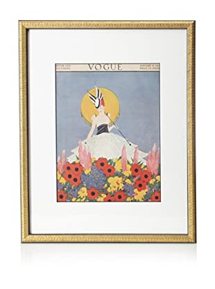 Original Vogue Cover from 1915 by Margaret Bull